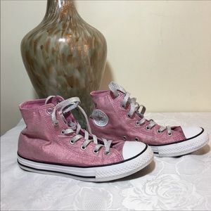All stars converse chuck Taylor pink size 4